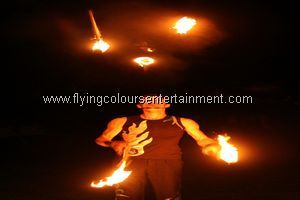 Fire Juggling Acts