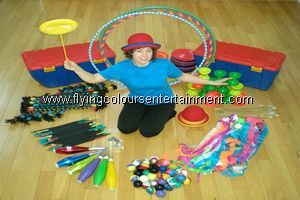 Juggling and Circus Skills Workshops