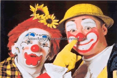Clowns and Clowning Acts