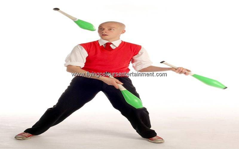 Club (sometimes incorrectly called 'Baton' or 'Skittle') Juggling