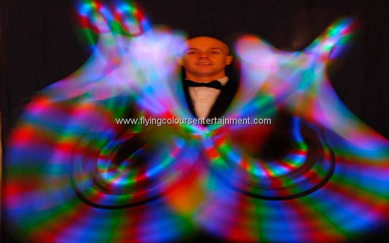 Glow LED Light Juggling Act