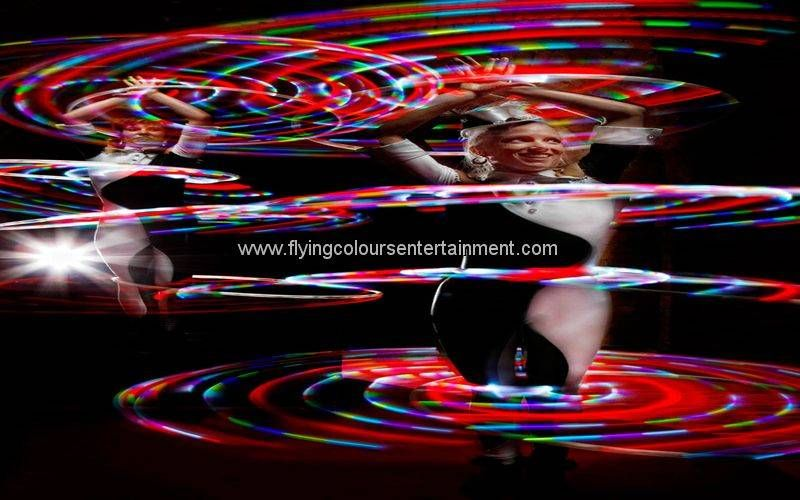 Glow LED Light Hula Hoop Act