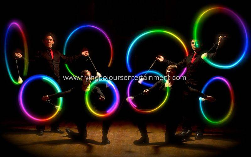 Glow LED Light Spinning Act