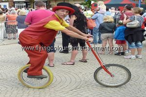 Unicyclists and Unicycle Acts
