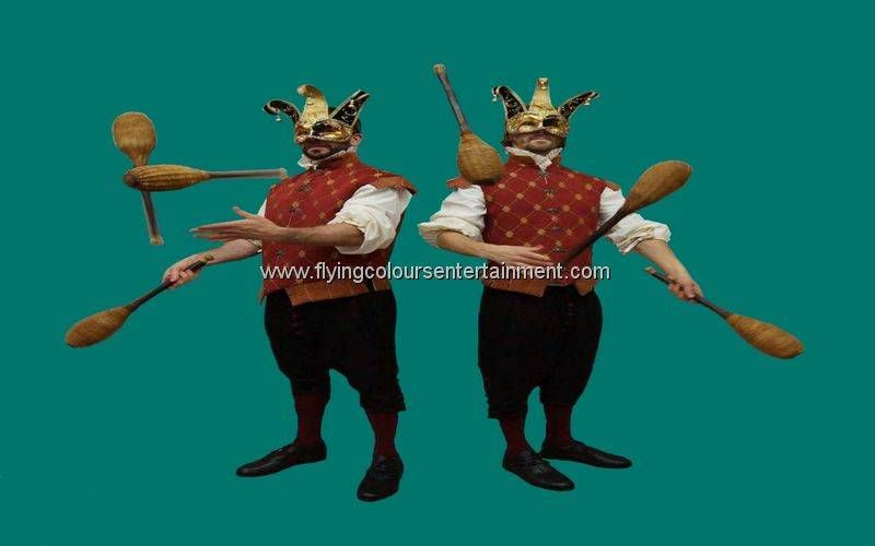 Masked Ball Jugglers