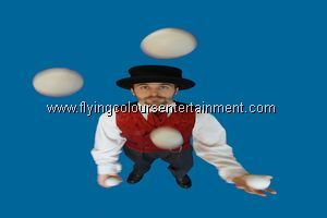 Victorian Themed Jugglers